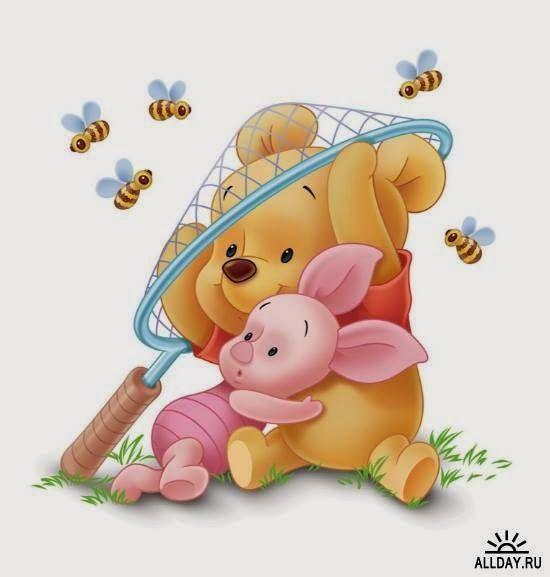 Pooh Ferkel Als Kinder Bienen Disneycharacters Cute Winnie The Pooh Baby Disney Characters Winnie The Pooh Background