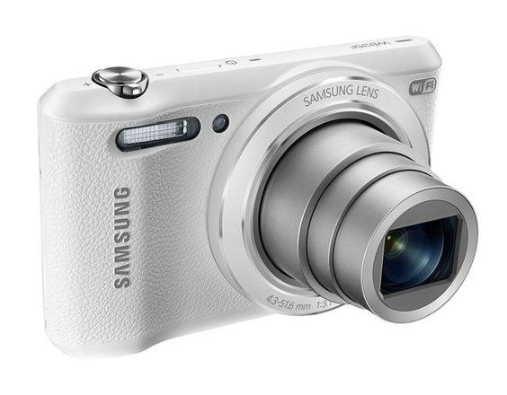 Samsung WB35F 16.2MP Smart WiFi & NFC Digital Camera with 12x ...