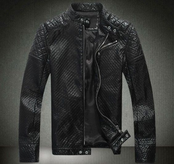 philipp plein men leather jacket motorcycle men skull. Black Bedroom Furniture Sets. Home Design Ideas