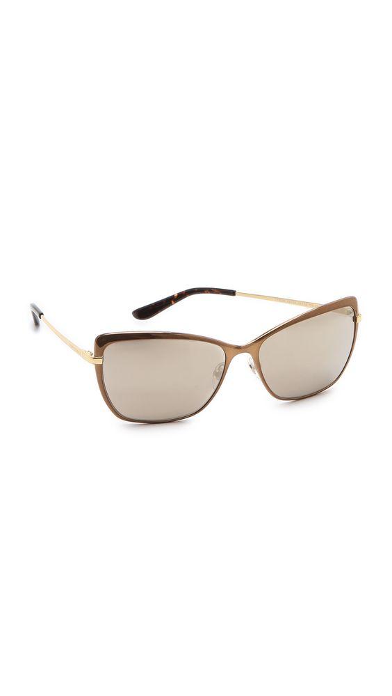 Tory Burch - Brown Modern Sunglasses | Tory Burch - Sunglasses ...