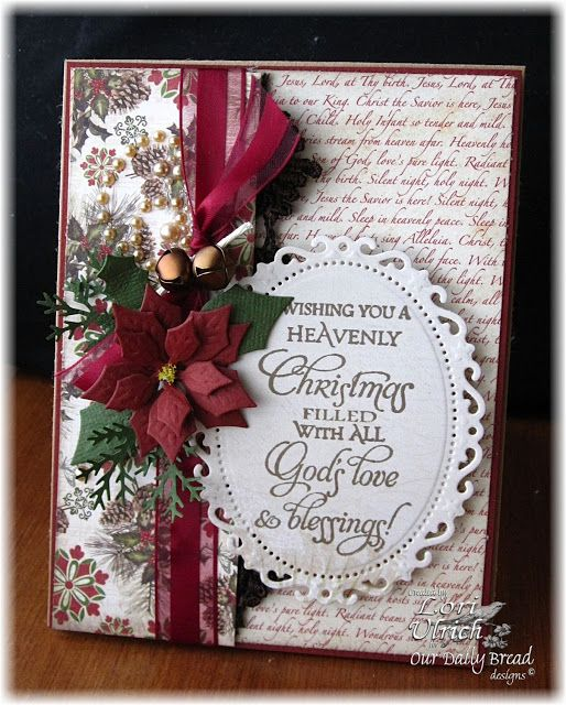 Created for the weekly MOJO challenge with ODBD's Christmas Blessings stamp set