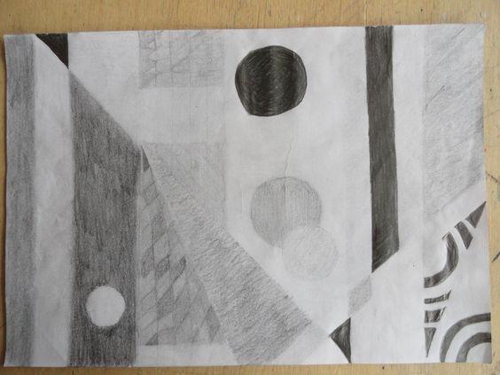 9ème Valeurs Crayon noir