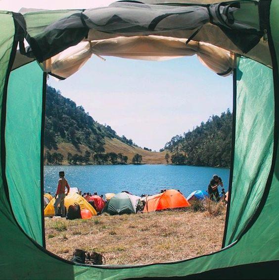 camping near malang