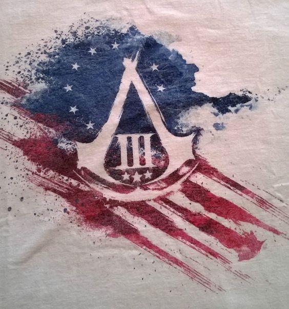 ASSASSINS CREED III - UbiSoft Jeux vidéo - T-Shirt