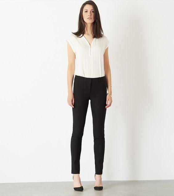 KATE Skinny Pants #fashion #trousers #black
