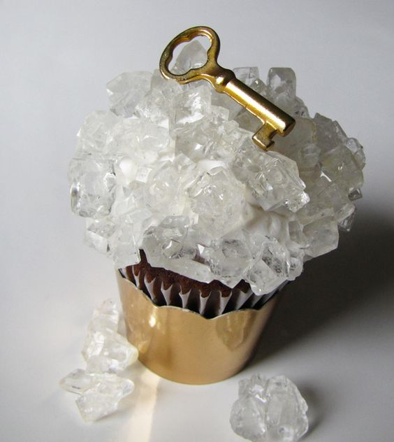 The Key Cupcakes..Over the top Sugar Crystalline Chocolate Cupcakes!