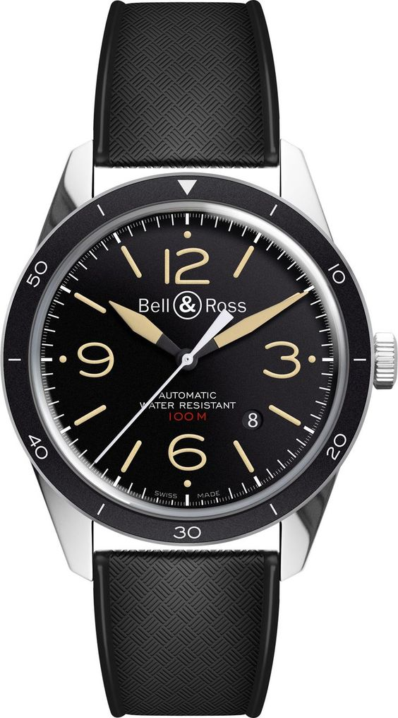 Bell & Ross Watch Vintage BR 123 Sport Heritage