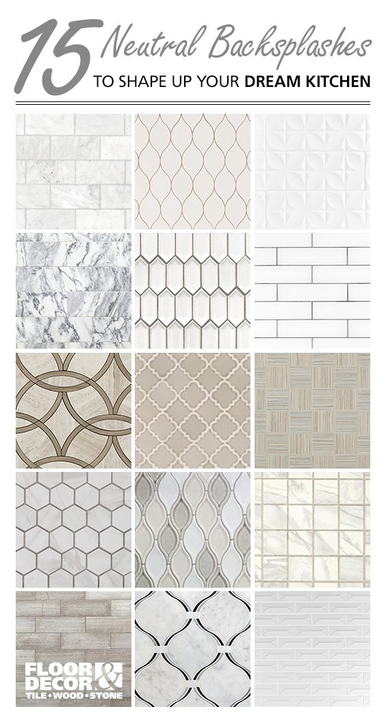 Shop Neutral Backsplash Tiles From Floor Decor Neutral