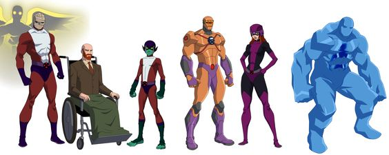 A request for of his amalgamated version of the X-Men and Doom Patrol.