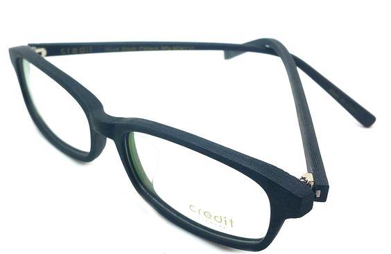 Credit Prescription Eye Glasses Frame, Rxable Woodlike Vintage ...