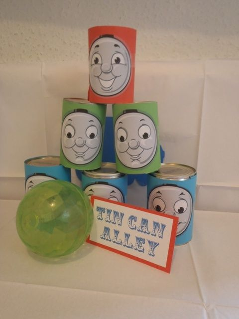 "Photo 2 of 47: Trains, Thomas the Tank, Carnival / Birthday ""All Aboard Train & Carnival Party"" 