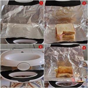 Dica - Como não pregar sanduíche na sanduicheira