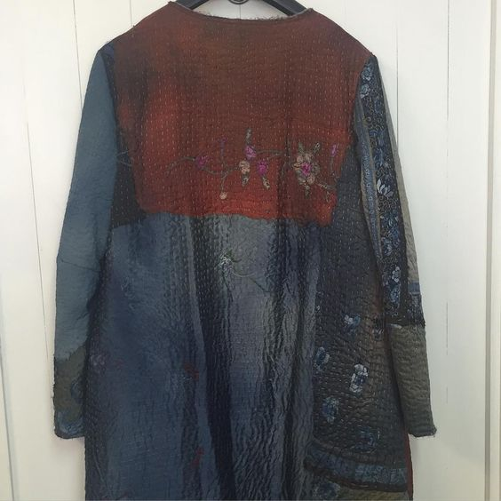#jacketoftheday #19thcentury #sustainable #oneofakind #bywalid @josephfashion #indigo #bywalidlondon