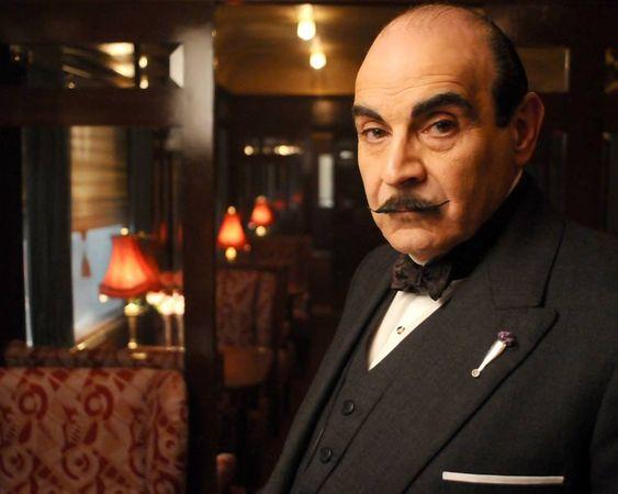 Hercule Poirot, David Suchet!