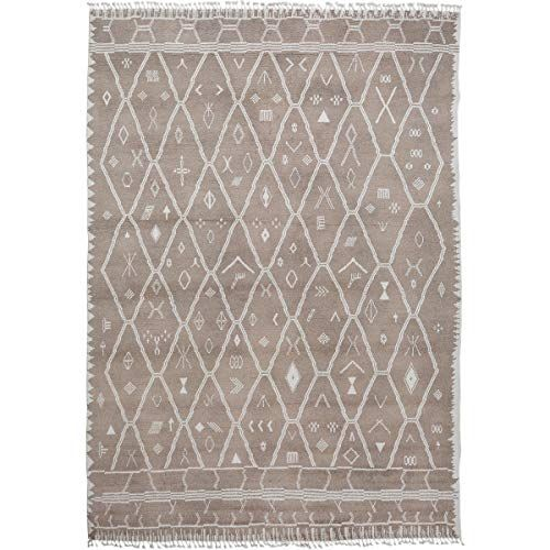 10x14 Large Tribal Geometric Moroccan Hand Knotted Area Rug Wool Carpet For Living Room 9 10 X 14 3 In 2020 Wool Area Rugs Tribal Geometric Wool Carpet