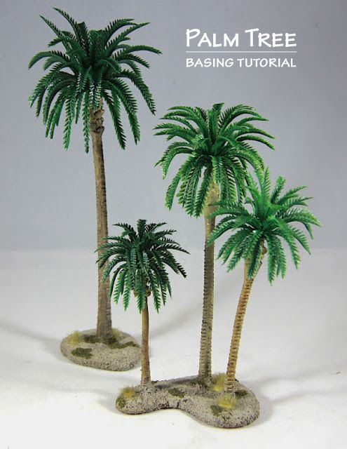 The Weasel S Page Of Miniature Painting Building Palm Tree Stands