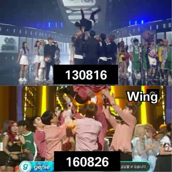 EXO, The type of group who toss up their leader everytime they win on Music…