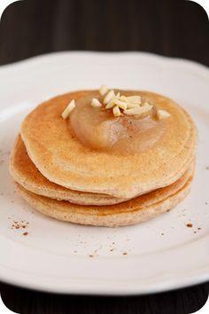 Fräulein M. kocht!: Vollkorn-Pancakes mit Quark