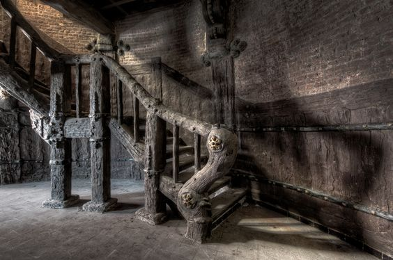 Stairs skittlemill, by Daan Oude Elferink