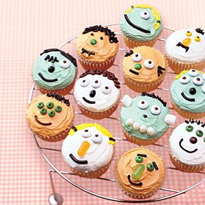 Little Monster Cupcakes from MyRecipes.com