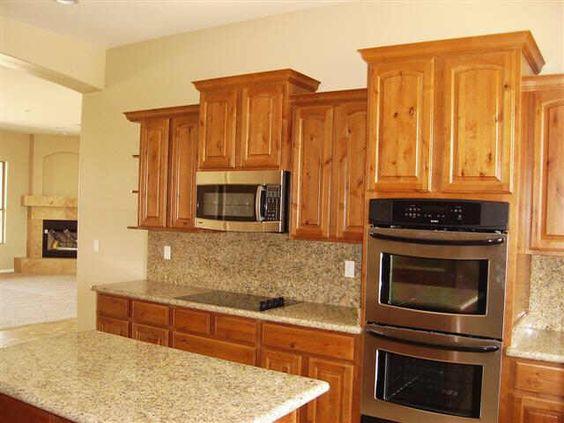 Alder Wood Kitchen Cabinets Design Through The Decades Phoenix Az 2000s Kitchens Part 1