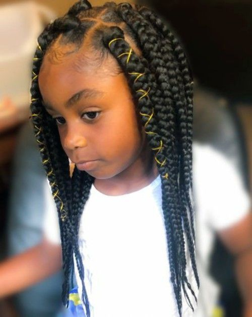 Black Kids Hairstyles With Braids Beads And Accessories Kids Hairstyles Black Kids Hairstyles Hair Styles