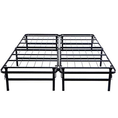 Orchid Prime Simple Folding Design Queen Size Strong Steel Bed