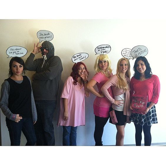 Mean girls, Group costumes and Costumes on Pinterest