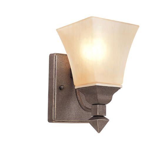Menards Indoor Wall Sconces : Tea Branch 1 Light 8.25