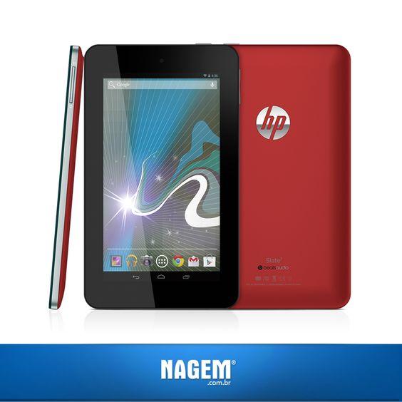 O Slate 7 é o tablet ideal para estar sempre ao seu lado! Fique conectado a tudo o que torna o seu dia melhor