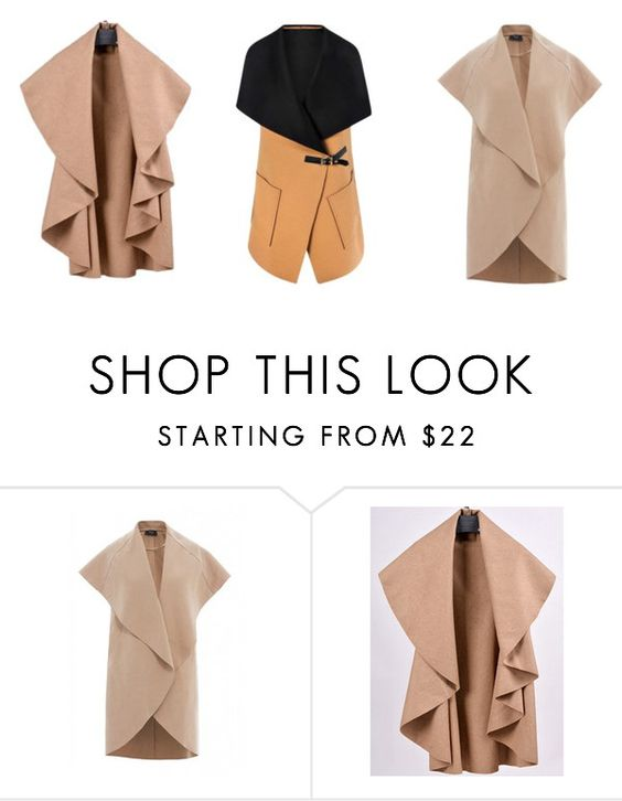 """sleeveless jackets"" by zaychishkastyle on Polyvore featuring AX Paris and Boohoo"
