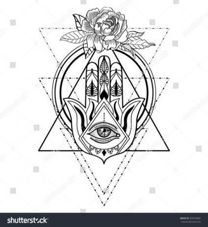 55 Trendy Flowers Tattoo Hand Color Geometric Hamsa Tattoo Hand Tattoos Hamsa Hand Tattoo