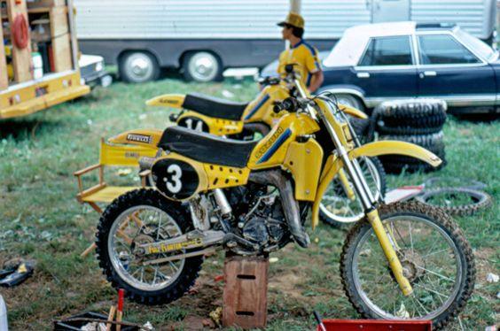 eric geboers team suzuki 125 cc 1981 moto da cross anni 39 70 39 80 pinterest. Black Bedroom Furniture Sets. Home Design Ideas