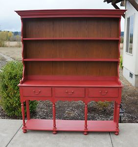 Charming French Country Style Hutch Buffet French Country Hutch