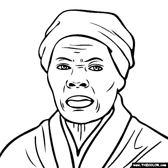 100 Free Coloring Page Of Harriet Tubman Color In This Picture Of Harriet Tubman And Share It With Others To Coloring Pages Harriet Tubman Bee Coloring Pages