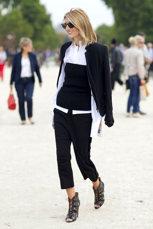 A Layered Look For The Office To Try Now