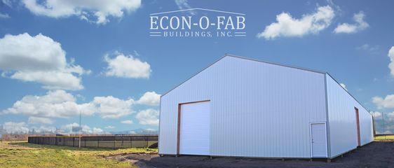 Here Is A 50 X 120 X 16 Pole Building With 2 10 X 14 And 2 12 X 14 Overhead Doors For A Hi In 2020 Pole Buildings Building Contractors Building Construction