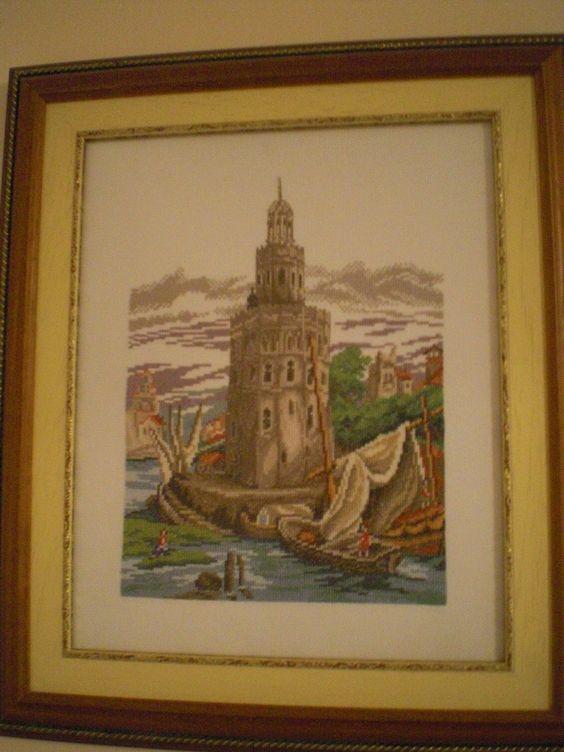 cuadro Torre del Oro