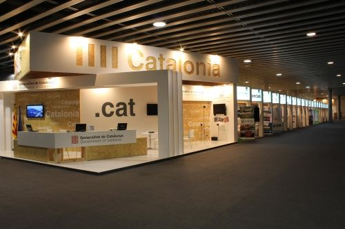 #Catalan Government pavilions at last #MWC2014 edition in #Barcelona