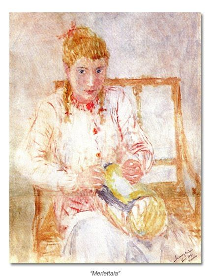 Con nuestras manos: Encajeras en el arte  Pio Semeghini (Mantua 1878-Verona1964)