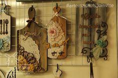 Placas para Cozinha - ScrapDecor - Recortes AMJ Visite nossa loja virtual: www.artemadeirajoinville.com.br
