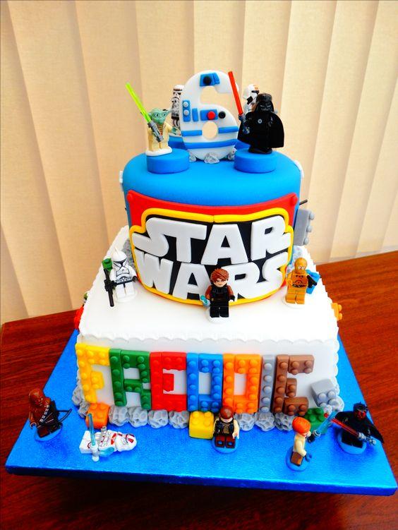 Lego Star Wars Cake Xmcx Kids Birthday Cakes By Millzies