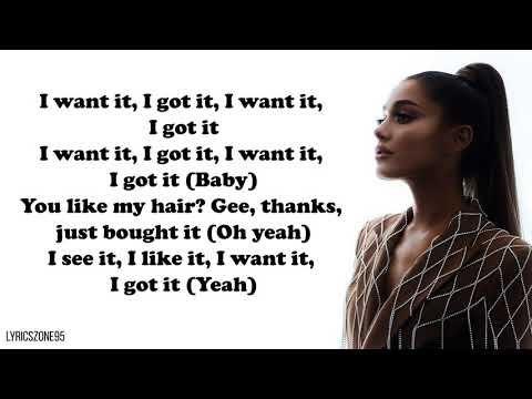 Ariana Grande 7 Rings Lyrics Youtube In 2019 Lyrics Music