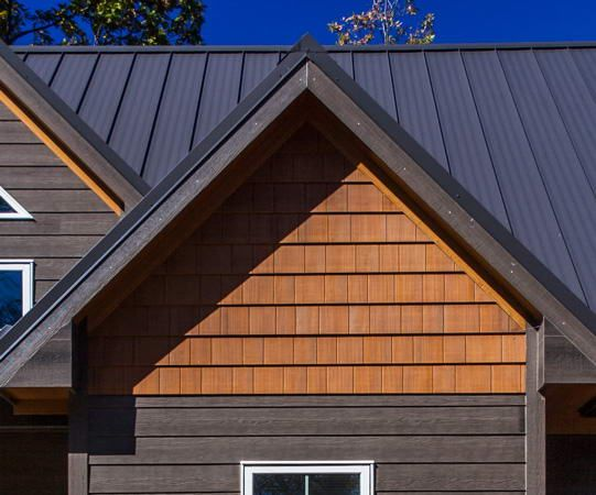 16 X 4 Even Shingle Panel 12 46 Lbs Per Panel 43 Pcs Per Square Exterior House Remodel Cottage Exterior Exterior House Siding