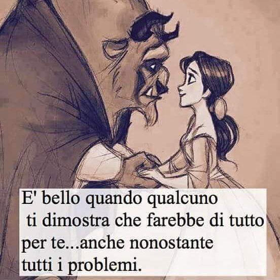 Frasi La Bella E La Bestia.Frasi Disney Frasi Disney On Instagram Frasi D Amore