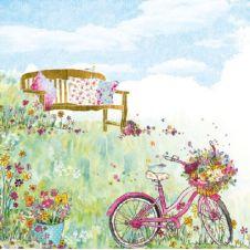 Guardanapo 915 - Spring Flowers - 33x33cm