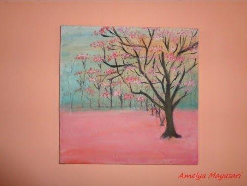 Terkeren 29 Gambar Aesthetic Bunga Hd Karena Indah Dan Hiasan Karena Itulah Yang Namanya Pergantian Tentu Diperlukan Ce Lukisan Bunga Lukisan Lukisan Pohon