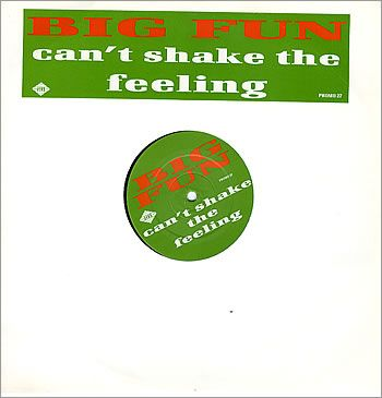 """For Sale - Big Fun Can't Shake The Feeling UK Promo  12"""" vinyl single (12 inch record / Maxi-single) - See this and 250,000 other rare & vintage vinyl records, singles, LPs & CDs at http://eil.com"""