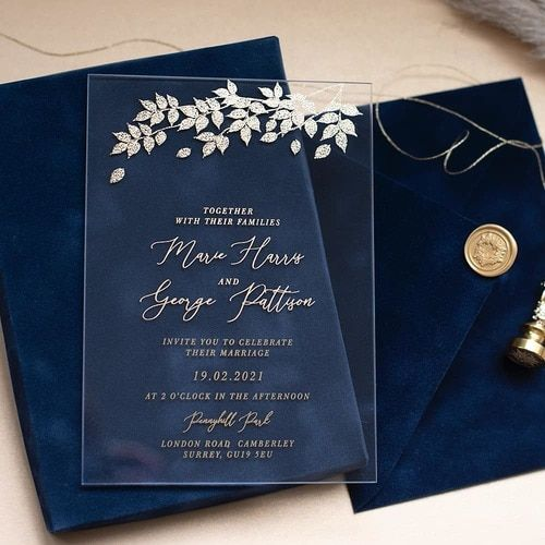 Extraordinary Wedding Invitation Cards to Catch Everyone's Attention!, fb62ace2c9d3aca66f9c43f11c5fe1f4