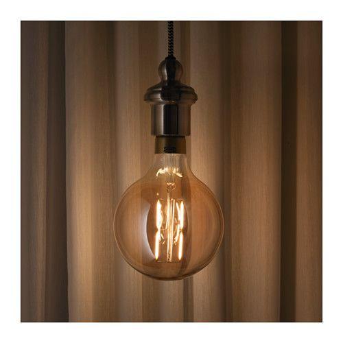 LUNNOM Bombilla LED E27 400 lúmenes - IKEA
